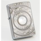 ZIPPO マザーオブパール 白蝶貝メタルプレート貼り 2MP-MoP ホワイト ジッポーライター