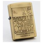 ZIPPO GODZILLA ゴジラ 60周年記念 ロゴ 真鍮古美 ジッポーライター