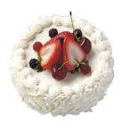 (食品サンプル フェイクフード ケーキ スイーツ)150mmホワイトチョコフルーツケーキ(DF34/118)