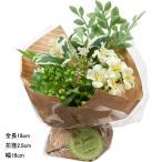 造花 アートフラワー花束)ハーブミックスブーケ (DMPO209)