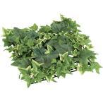 (壁面緑化 造花 フェイクグリーン 人工観葉植物) 25cmライトグリーンアイビーミックスマット(DF34/19)