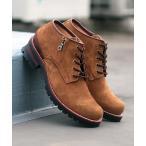 ブーツ グッドイヤー製法 ショートレザーワークブーツ