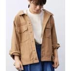 ジャケット ミリタリージャケット MEDE19F 古着屋でみつけたようなオーバーサイズミリタリージャケット