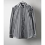 シャツ ブラウス 日本製ブロードワイドカラーシャツ(GW)