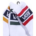 靴下 VANS/ヴァンズ College Basic 3PSocks ラインソックス