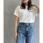 tシャツ Tシャツ [GYMPHLEX/ジムフレックス] ロゴ刺繍Tシャツ