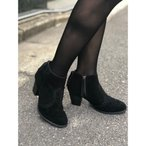 ブーツ 【MINNETONKA】ミネトンカ 限定 MELISSA/メリッサ スエードショートブーツ