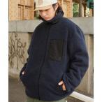 ジャケット ブルゾン 【ユニセックスで着用可能/選べる2タイプ】KANGOL/カンゴール別注 リバーシブル シープボアフリースジャケット/オーバーサイ