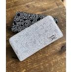 財布 【Keith Haring / キースヘリング】 総柄 プリント ロングウォレット