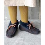 ブーツ ファーモカシンシューズ (KIDS)
