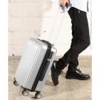 スーツケース [GIORDANO]ロゴプリントキャリーケース