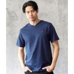 tシャツ Tシャツ POLO RALPHLAUREN ポロ ラルフローレン ワンポイントクラシック ロゴ コットン Vネック 半袖Tシャツ  ボーイズ