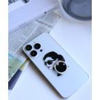 モバイルアクセサリー 〈HAPPY FACE/ハッピーフェイス〉Smartphone Ring/AH風・MM風・サングラスLADY スマホリング