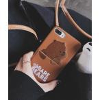 モバイルケース 【c.u.l】アニマル カード収納 クマ パンダ アイフォンケース iPhoneカバー ipc194