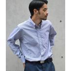 シャツ ブラウス INDIVIDUALIZED SHIRTS/インディビジュアライズドシャツ BIG GINGHAM/BENGAL STRIPE SH