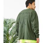 tシャツ Tシャツ Mark Gonzales/マークゴンザレス MONO-MART別注 ビッグシルエット背面BIGプリント 長袖Tee