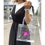 トートバッグ バッグ 【Keith Haring/キースヘリング】クリア mini トートバッグ