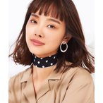 スカーフ バンダナ WEGO/パイピングドットスカーフ