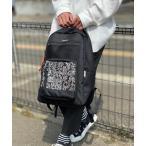 リュック 【Keith Haring / キースヘリング】 メッシュ ポケット リュック