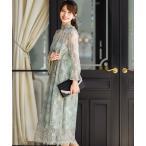 ドレス 襟ボウタイレース 結婚式ワンピースドレス