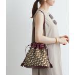 バッグ ハンドバッグ 【2WAY】モノグラム巾着バッグ
