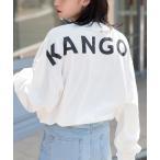 【BASQUE -enthusiastic design-】KANGOL カンゴール BASQUE magenta 別注 ビッグシルエット バックプリ