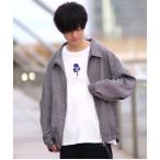 ファッションインフルエンサー こめ × INTER FACTORY グレンチェックバルーンブルゾン