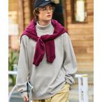 ニット オーバーサイズ畦編みタートルニットセーター(EMMA CLOTHES)