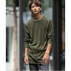 tシャツ Tシャツ TC サーマル (ワッフル) / トール ロング丈 ロングスリーブ Tシャツ (クルーネック)