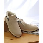 ブーツ AAA / メンズ・レディスサイズ対応 ふわふわボアが暖かいダブルジップムートンブーツ(2381)