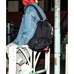リュック 【AAPE X Manhattan Portage】BIG APPLE BACKPACK