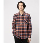 シャツ ブラウス :マルチチェックネルシャツ LS2
