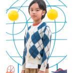 カーディガン MARNI(マルニ)Kids & Junior アーガイル柄カーディガンニットウェア