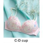 ブラ 「ときはなつブラ Beauty Feel」ノンワイヤーブラ 3/4カップ C-Dcup