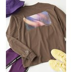 tシャツ Tシャツ Kappa/カッパ 別注 袖テープ/刺繍ロゴ/プリント ビッグシルエットロンT