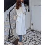 ジャケット ノーカラージャケット Soft Gown Coat/ソフトガウンコート