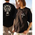 tシャツ Tシャツ Cross Logo Tokyo S/S T-SHIRTS/ ドッグタウン Tシャツ ユニセックス バックプリント