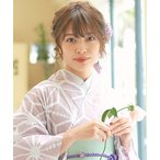 和装 ゆかた姿を引き立てる♪半襟  選べる9色 花 浴衣【A】