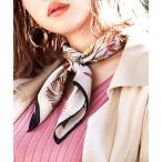 スカーフ バンダナ フラワースカーフ