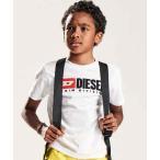tシャツ Tシャツ DIESEL(ディーゼル)Kids & Junior プリント半袖Tシャツカットソー