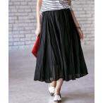 スカート インド綿ボイル素材フレアースカート