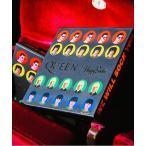 靴下 【Limited】Happy Socks×QUEEN GIFT BOX 6足組 クルーソックス ギフトセット 1A443008