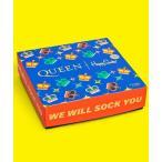 靴下 【Limited】Happy Socks×QUEEN GIFT BOX 4足組 キッズソックス ギフトセット 12243011