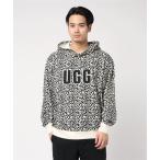 パーカー UGG Logo Hoodie Sweatshirt Print (OFF WHITE/ BLACK)