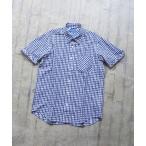 シャツ ブラウス BEAMS / ギンガムチェック ショートスリーブ シャツ