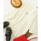 tシャツ Tシャツ Kappa/カッパ 別注 刺繍 筆記体 オーバーサイズ クルーネック サマーニット カットソー