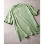 tシャツ Tシャツ 【親子おそろい】キッズバックプリント ビッグシルエットロング丈Tシャツ(半端袖)