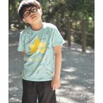 tシャツ Tシャツ 【30】〔LOGOS/ロゴス〕TBペンキ柄半袖Tシャツ
