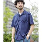 シャツ ブラウス 《WEB限定》フェイクスウェードオープンカラーシャツ