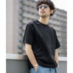 tシャツ Tシャツ 《WEB限定》フェイクスウェードクルーネックTシャツ